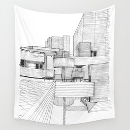 National Theatre London Wall Tapestry