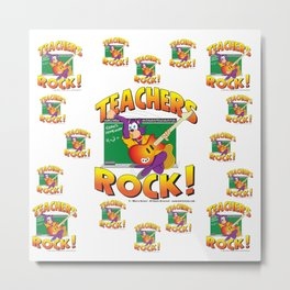 Teachers Pattern 7000 Metal Print