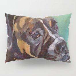 Boxer Dog Keeley Pet Portrait Pillow Sham