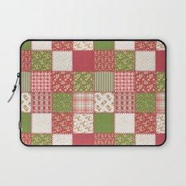 Festive Patchwork Laptop Sleeve