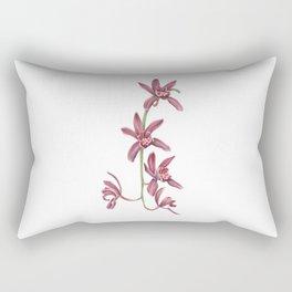 Cascading Orchid Rectangular Pillow