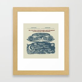 Voices from the Borderlands Framed Art Print