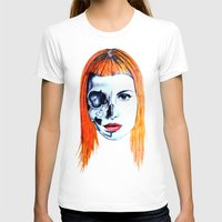 hayley williams T-shirts featuring Half Skull Half Hayley by anetambiel