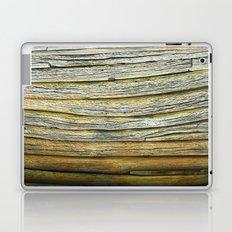Wooden curves Laptop & iPad Skin
