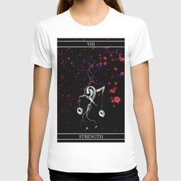 A Tarot of Ink Major Arcana VIII Strength T-shirt