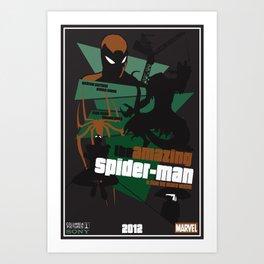 Amazing Spider-man Poster Art Print