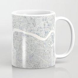 City Map London watercolor map Coffee Mug