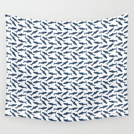 Whale Shark Pattern Wall Tapestry