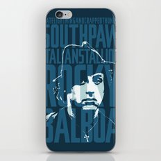 Rocky Balboa Minimal Vector Film Poster iPhone & iPod Skin