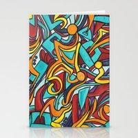 jazz Stationery Cards featuring Jazz by Jon McTavish
