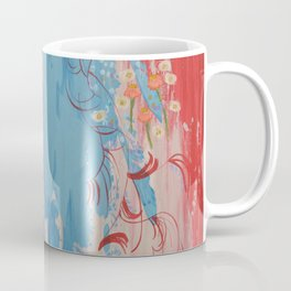 Dragon Tears. From my Original Painting. Abstract Painting by Jodilynpaintings. Abstract Coffee Mug
