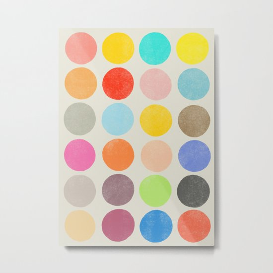 colorplay 1 Metal Print