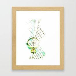 Trigrid Framed Art Print