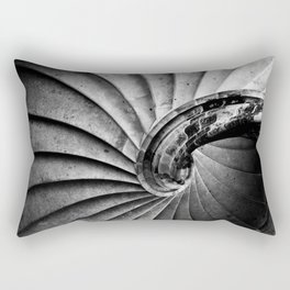 Sand stone spiral staircase Rectangular Pillow