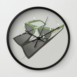 Change your view Wall Clock