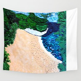 Calming Beach Wall Tapestry