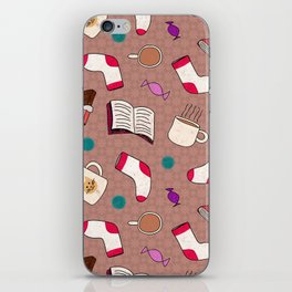 A Cozy Winter's Night iPhone Skin