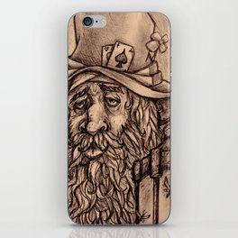 Old man iPhone Skin