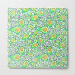 Fruit of the Day: Avocado Metal Print