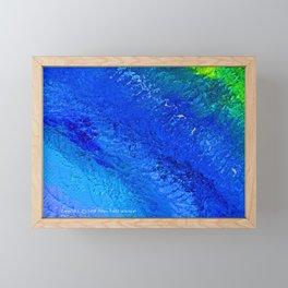 """""""Riptide #4"""" Oil Painting Framed Mini Art Print"""