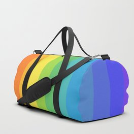 Solid Rainbow Duffle Bag