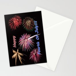 Happy fourth of july Stationery Cards