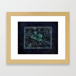 Constellation of Aries Framed Art Print