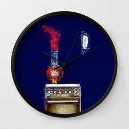 Love keep hot Wall Clock