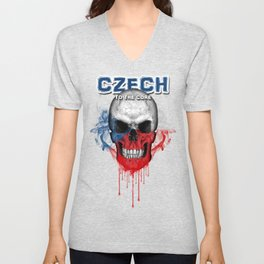 To The Core Collection: Czech Republic Unisex V-Neck