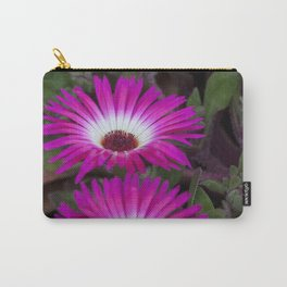 Livingstone daisies pink and white Carry-All Pouch