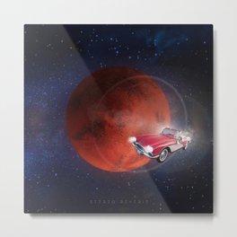 Spaceman X Circa 67 Metal Print