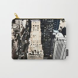 425 Park Avenue NYC City View Watercolor Graphic Carry-All Pouch