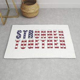 Stronger Together, Campaign Slogan Rug