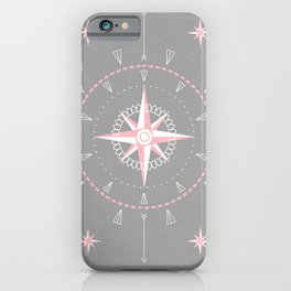 Rose of winds iPhone Case