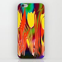 tulip iPhone & iPod Skins featuring Tulip  by LoRo  Art & Pictures