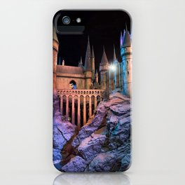 Hogwarts Is My Home iPhone Case