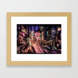 Lan Kwai Fong Framed Art Print