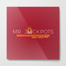 Mr. Jackpots Metal Print