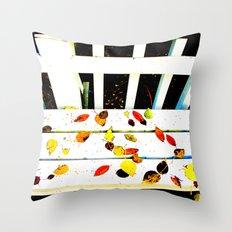 Seat's Taken Throw Pillow