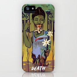 The Death Card iPhone Case