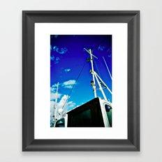 Sailing Framed Art Print