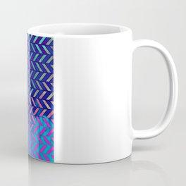 Acid Ombre Herringbone Coffee Mug