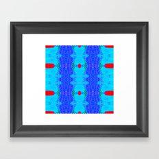 Marina II - Abstract Painting Framed Art Print