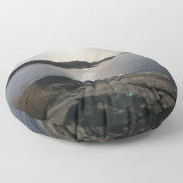 Soft reflections Floor Pillow