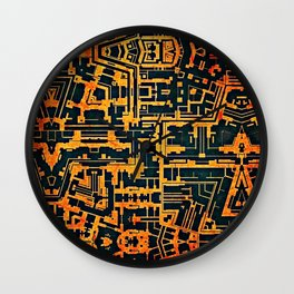 Sixty Wall Clock