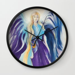 Angel for Creativity and Sensuality Wall Clock