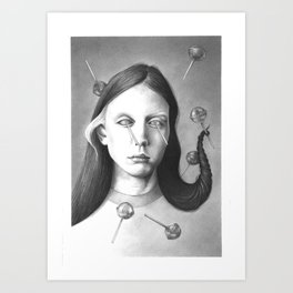 anthem for a seventeen year old series n4 Art Print