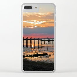 Chesapeake Bay View Clear iPhone Case