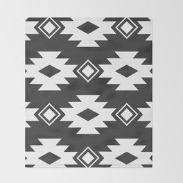Geometric Navajo Throw Blanket
