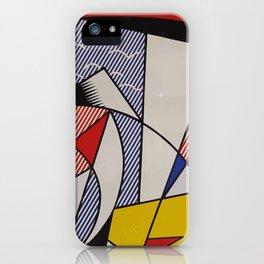 A vectorised Lichtenstein iPhone Case